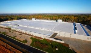 apple energía renovable en data center