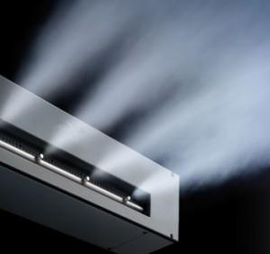 Refrigeración por ultrasonidos en pasillo frío