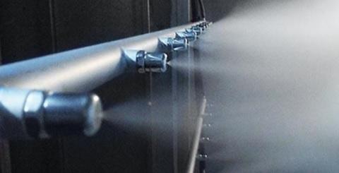 Sistema Pulverización Refrigeración Adiabática