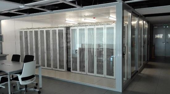 Nueva Sala CPD Laboratorio Telecomunicaciones SmartGrid