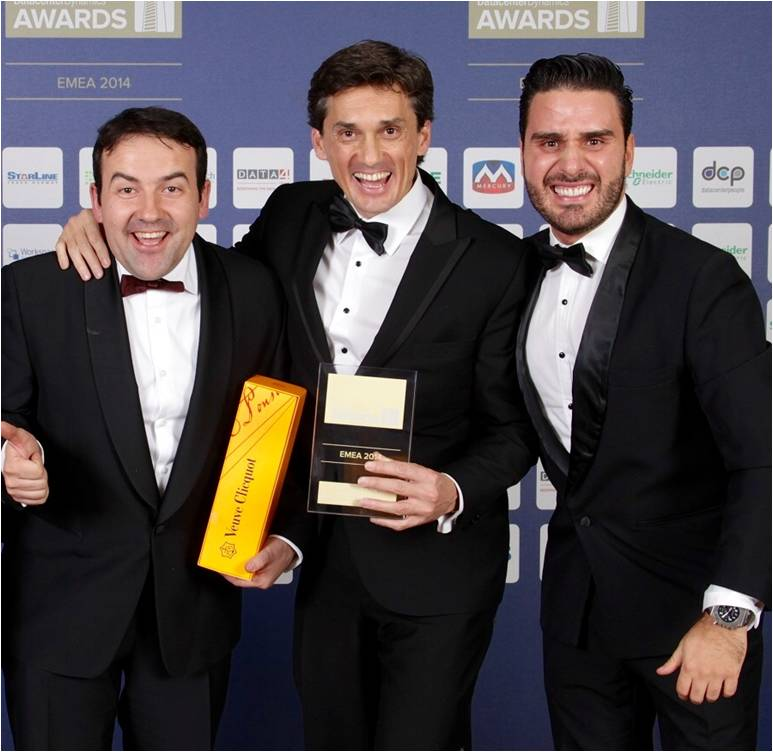 Ganadores del Premio EMEA Awards 2014